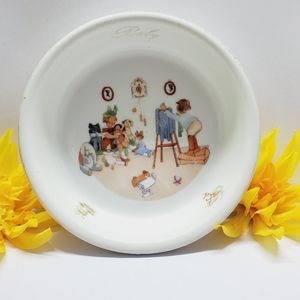 "Germany Photograph  Baby Bowl, 7"" Round"